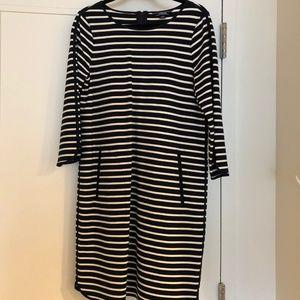 Lands End Striped Dress